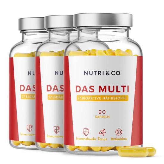 3er Set Multivitamin