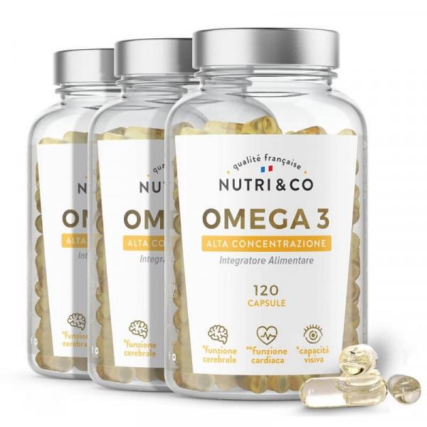 Pack di 3 Omega 3
