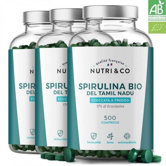 Pack di 3 Spirulina