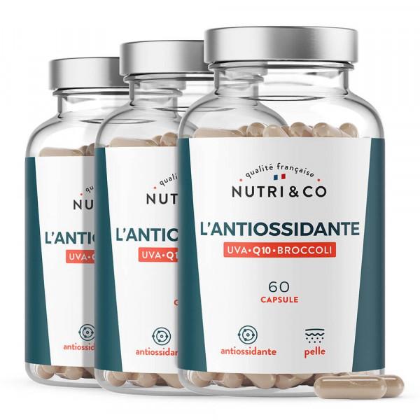Pack di 3 Antiossidante