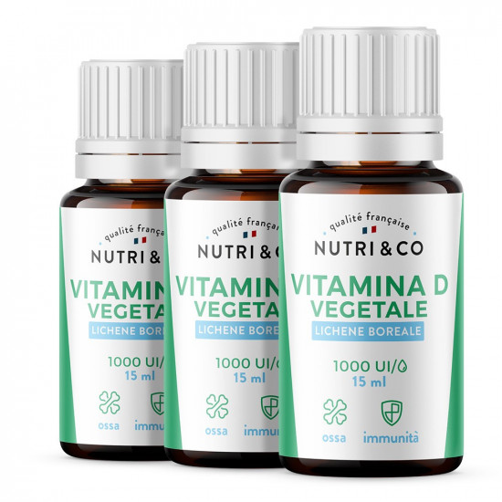 Pack di 3 Vitamina D